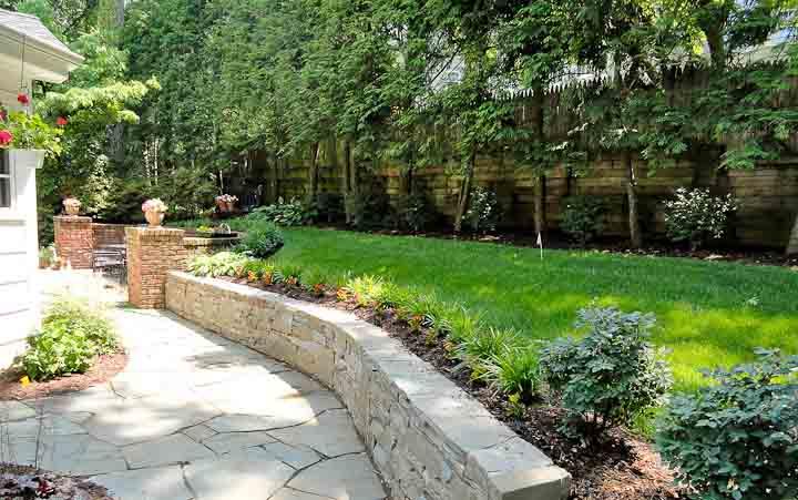 Walls Walkways Amp Patios Gallery Truesdale Landscaping
