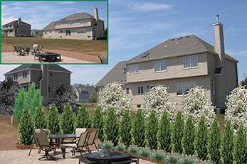 Home truesdale landscaping for Computer landscape design